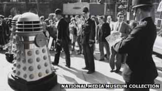 The Daleks invade London, 1964, Daily Herald