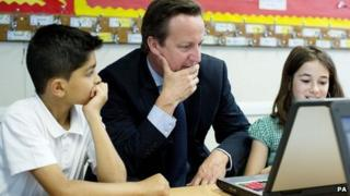 Cameron launches new national curriculum