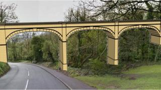 Artist plans for Downs footbridge