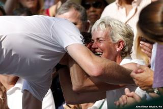 Andy and Judy Murray