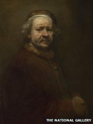 Self Portrait at the Age of 63, Rembrandt, 1669