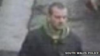 CCTV image of flasher