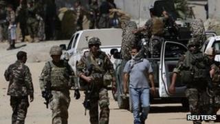 Nato troops in Afghanistan (June 2013)