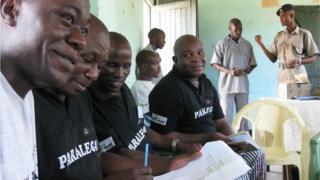 The prisoner paralegal team at Kamiti Maximum Security Prison