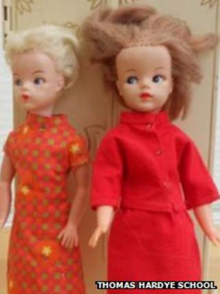 Sindy dolls from the 1960s