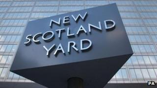 New Scotland Yard, the headquarters of the Metropolitan Police in London