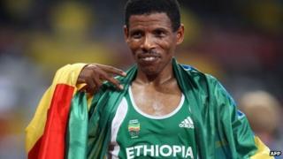Haile Gebrselassie (August 2008)
