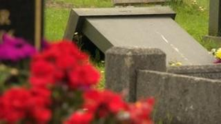 Relatives were not warned about the decision to topple the gravestones in Nuthall Cemetery