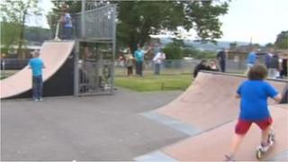 Shipley skate park event