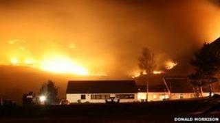 Wildfire in Lochalsh