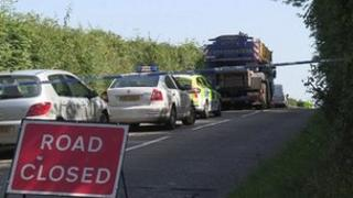 The crash happened on the Mayogall Road near Maghera