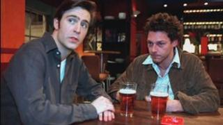 Jack Devonport and Richard Coyle from the BBC series Coupling