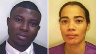 Jayeola Abiola and Vania Fernandes