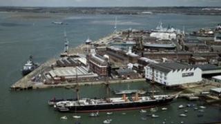 Portsmouth dockyard