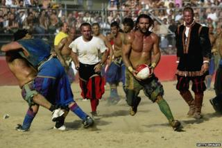 Calcio storico game, 2003