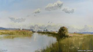 Thurne Summer Light (detail)