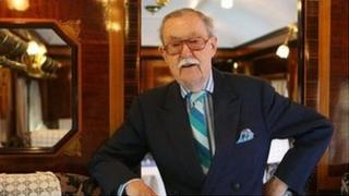 Alan Whicker on the Orient Express