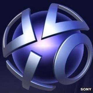 The PlayStation Network logo