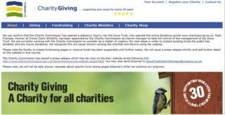 charitygiving.co.uk website