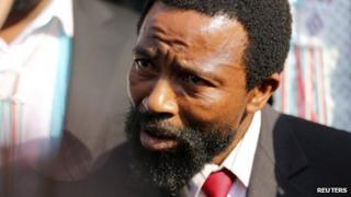 King Buyelekhaya Dalindyebo (10 July 2013)