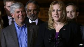 Lisa Raitt, Canada's during a news 12 April 2013