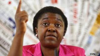 Italian Minister for Integration Cecile Kyenge