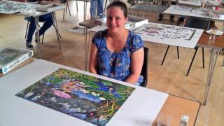 Emma Jenkinson won the British Jigsaw Championship