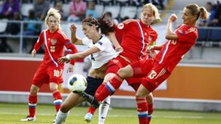 England play Russia in women's Euros