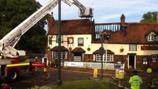 The Swan pub, Wheathampstead