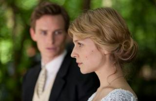Eddie Redmayne and Clemence Poesy in Birdsong