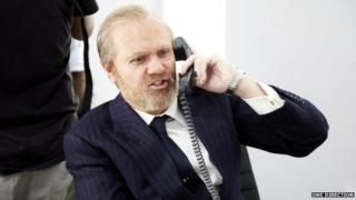 Niall as an old man