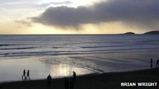 Seaton beach, Cornwall. Pic: Brian Wright
