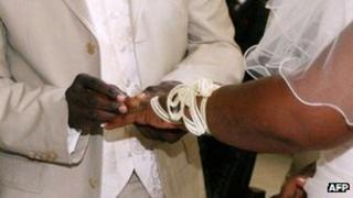 A wedding in Ivory Coast in July 2007