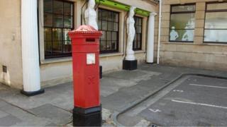 Penfold pillar box in Montpellier Walk in Cheltenham