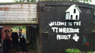 Timbersbrook Project - photo from BBC Stoke's Phil McCann