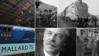 Mallard, Mallard crew and Sir Nigel Gresley
