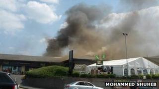 Fire on Ingleby Road Bradford