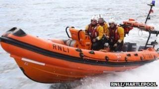 Hartlepool inshore lifeboat