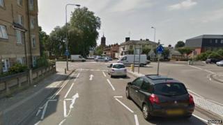 Norwich Road roundabouts, Ipswich