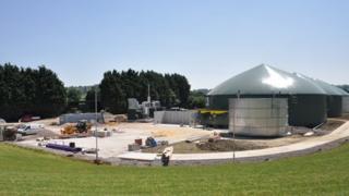 Biodigester, Wyke Farms