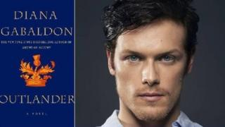 Outlander book and Scots actor Sam Heughan