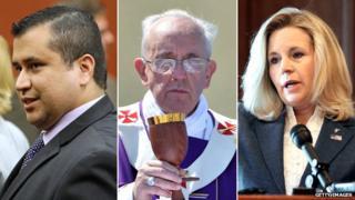 George Zimmerman, Pope Francis, Liz Cheney
