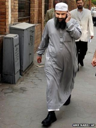 Abu Omar in Cairo in 2007