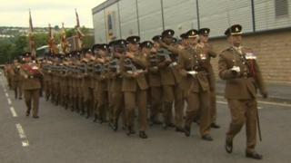 Third battalion of the Yorkshire Regiment