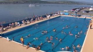 Gourock Outdoor Swimming Pool