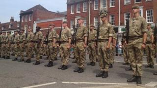 Princess of Wales's Royal Regiment soldiers