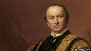 Painting of Lord Curzon