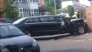 Funeral crash