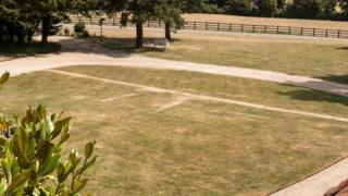 Greys Court parch marks