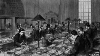 Bank of England clerks, 1890